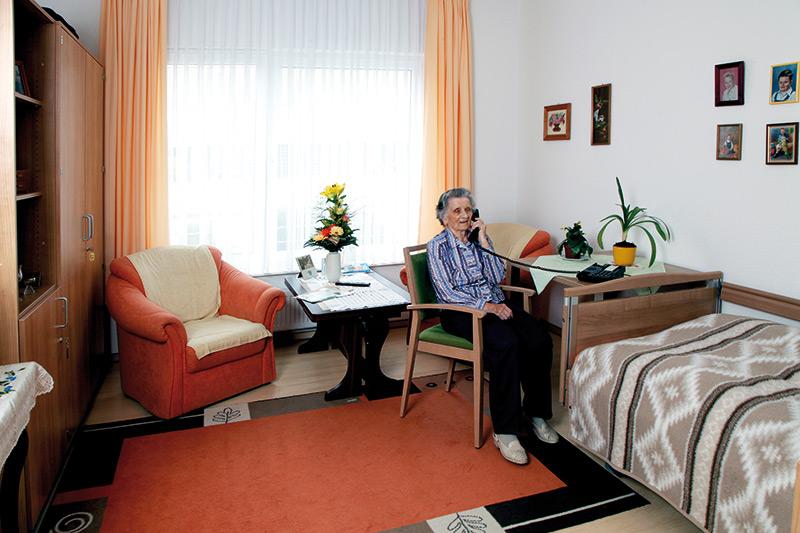 Einzug Pflegeheim Ernstthal